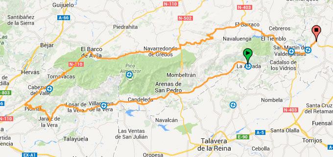 Rutas En Moto Rutas En Gredos